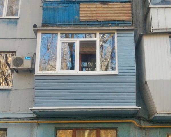 Балкон под ключ в Запорожье на Нижнеднепровской