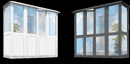 Цены французских балконов в Запорожье - в чем разница